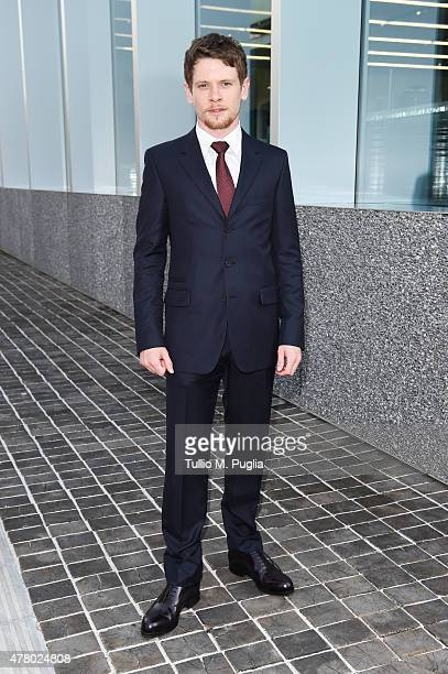 Jack O'Connell attends Prada Menswear Spring/Summer 2016 Cocktail Party at Fondazione Prada at Fondazione Prada on June 21 2015 in Milan Italy