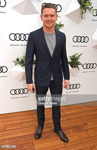 Jack O'Connell attends the Audi Polo Challenge at Coworth Park on May 6 2017 in Ascot United Kingdom