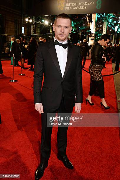 Jack O'Connell attends the EE British Academy Film Awards at The Royal Opera House on February 14 2016 in London England