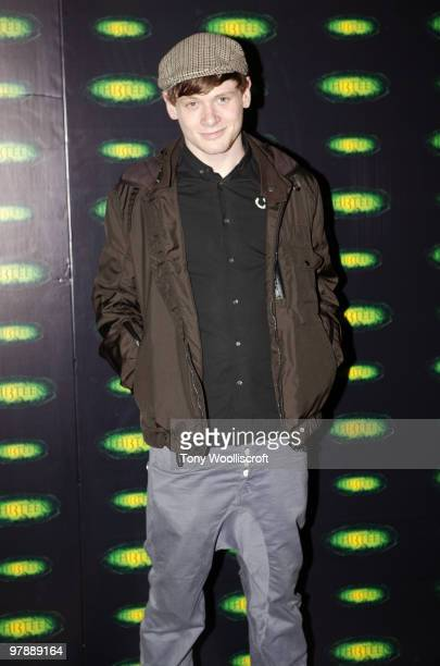 Jack O'Connell attends the launch party for new ride THI3TEEN at Alton Towers on March 19 2010 in Alton England