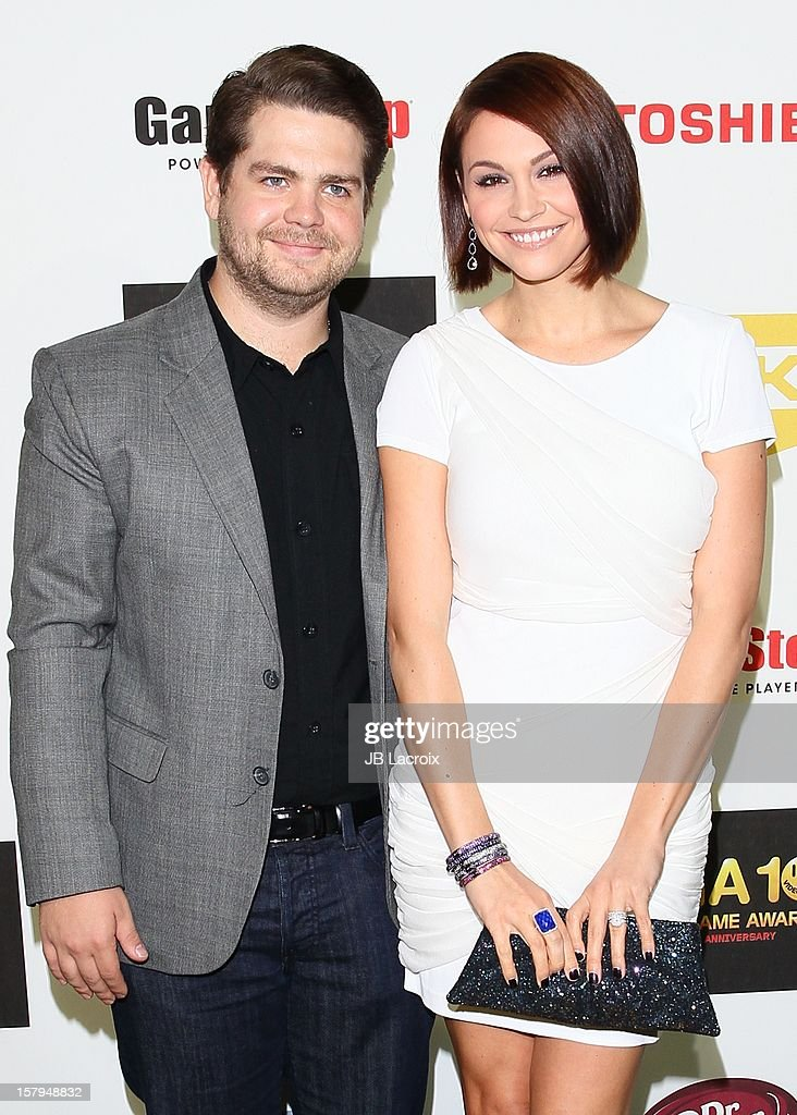 <a gi-track='captionPersonalityLinkClicked' href=/galleries/search?phrase=Jack+Osbourne&family=editorial&specificpeople=202112 ng-click='$event.stopPropagation()'>Jack Osbourne</a> and Lisa Stelly attend the Spike TV's 10th Annual Video Game Awards at Sony Studios on December 7, 2012 in Los Angeles, California.