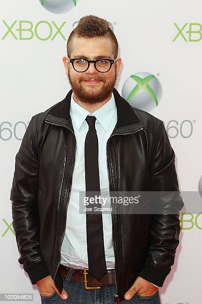 Jack Osbourne arrives to the World Premiere Of 'Project Natal' For Xbox 360 at Galen Center on June 13 2010 in Los Angeles California