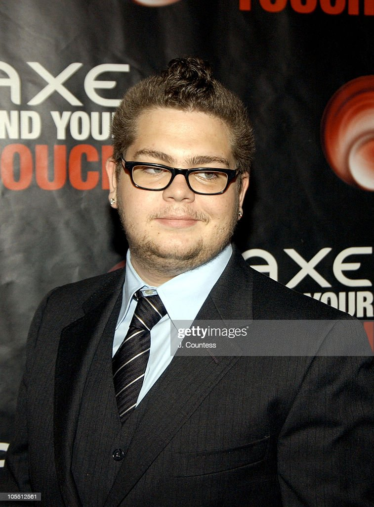 <a gi-track='captionPersonalityLinkClicked' href=/galleries/search?phrase=Jack+Osbourne&family=editorial&specificpeople=202112 ng-click='$event.stopPropagation()'>Jack Osbourne</a> during AXE Find Your Touch 'Dark' Party at Guccione Mansion in New York City, New York, United States.