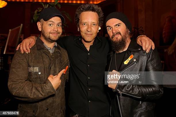 Jack Osbourne musician / artist Billy Morrison and musician Rob 'Blasko' Nicholson attend an evening of art with Billy Morrison and Joey Feldman...