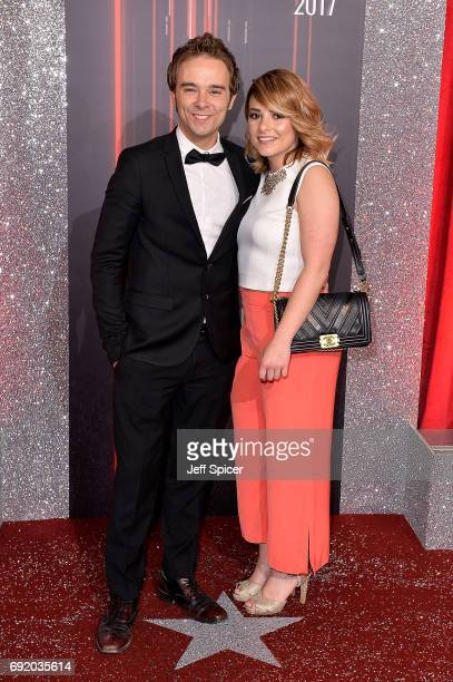 Jack P Shepherd and Lauren Shippey attend The British Soap Awards at The Lowry Theatre on June 3 2017 in Manchester England The Soap Awards will be...