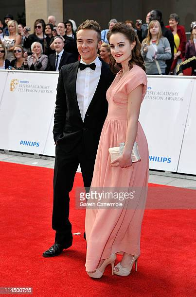 Jack P Shepherd arrives on the Red Carpet for The Philips British Academy Television Awards at Grosvenor House on May 22 2011 in London England