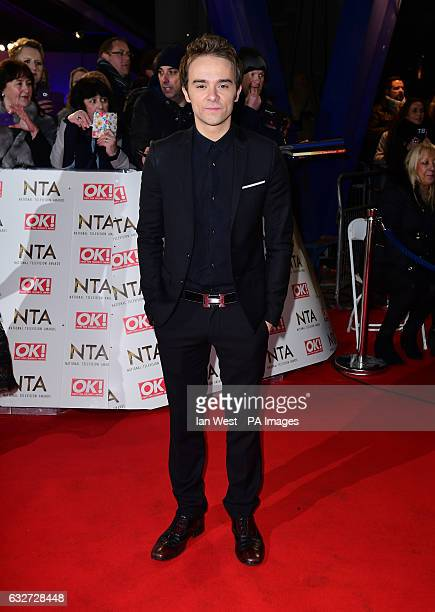 Jack P Shepherd arriving at the National Television Awards 2017 held at The O2 Arena London PRESS ASSOCIATION Photo Picture date 25th January 2017...