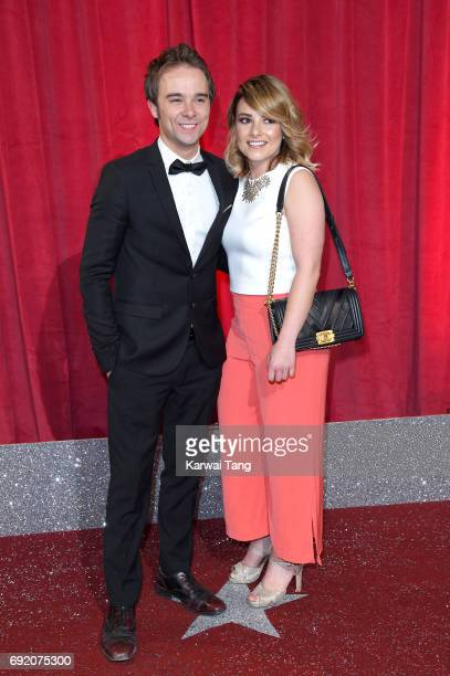 Jack P Shepherd attends the British Soap Awards at The Lowry Theatre on June 3 2017 in Manchester England