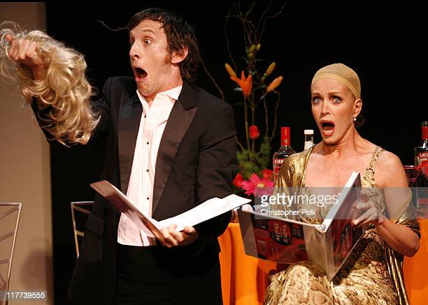 Jack Plotnick and Donna Mills during 'Valley of the Dolls' Reading and DVD Debut Show and After Party at Renberg Theater in Hollywood California...