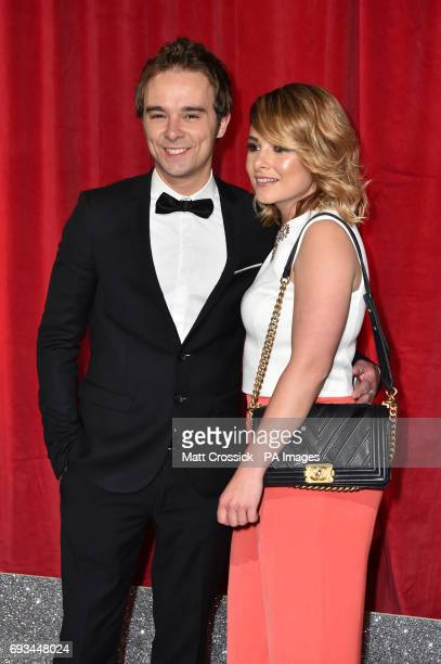Jack PShepherd and Lauren Shippey attending the British Soap Awards 2017 at The Lowry Salford Manchester PRESS ASSOCIATION Photo Picture date...