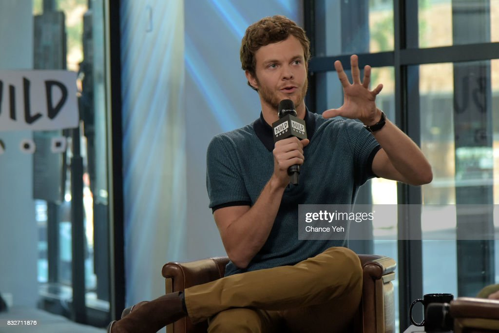 Jack Quaid attends Build series to discuss 'Logan Lucky' at Build Studio on August 16, 2017 in New York City.