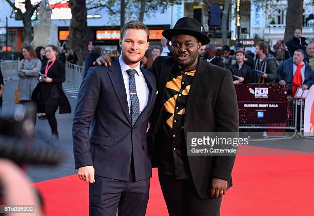 Jack Reynor and Babou Ceesay attend the 'Free Fire' Closing Night Gala screening during the 60th BFI London Film Festival at Odeon Leicester Square...