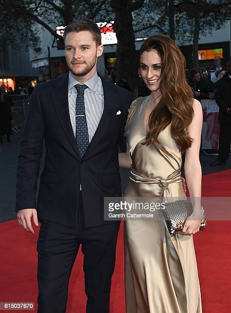 Jack Reynor and Madeline Mulqueen attend the 'Free Fire' Closing Night Gala screening during the 60th BFI London Film Festival at Odeon Leicester...