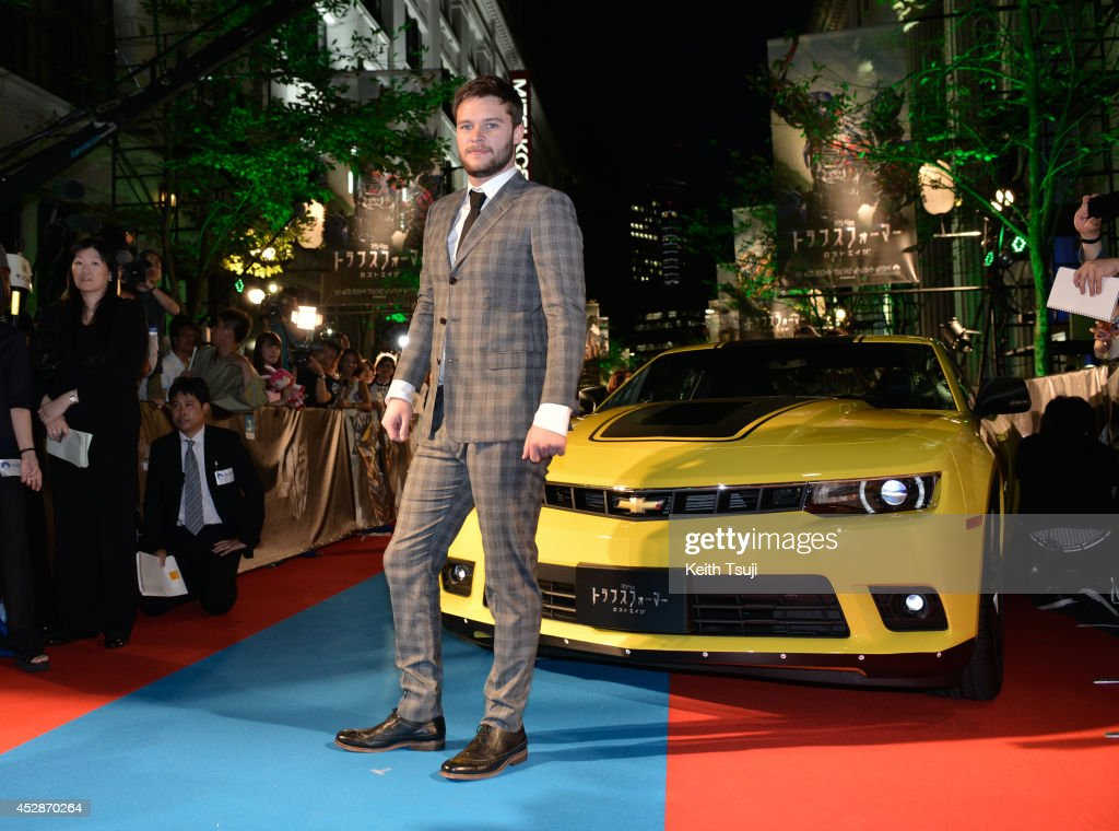 <a gi-track='captionPersonalityLinkClicked' href=/galleries/search?phrase=Jack+Reynor&family=editorial&specificpeople=10130487 ng-click='$event.stopPropagation()'>Jack Reynor</a> attends the Japan premiere of 'Transformers : Age Of Extinction' at the Toho Cinemas Nihonbashi on July 28, 2014 in Tokyo, Japan.