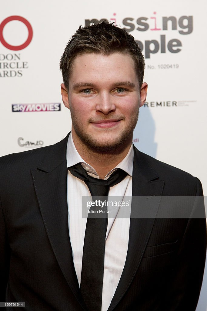 Jack Reynor, attends the London Critics' Circle Film Awards, at The Mayfair Hotel on January 20, 2013 in London, England.