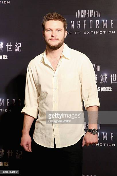 Jack Reynor attends the photo call for the worldwide premiere screening of 'Transformers Age of Extinction' on June 20 2014 in Hong Kong Hong Kong