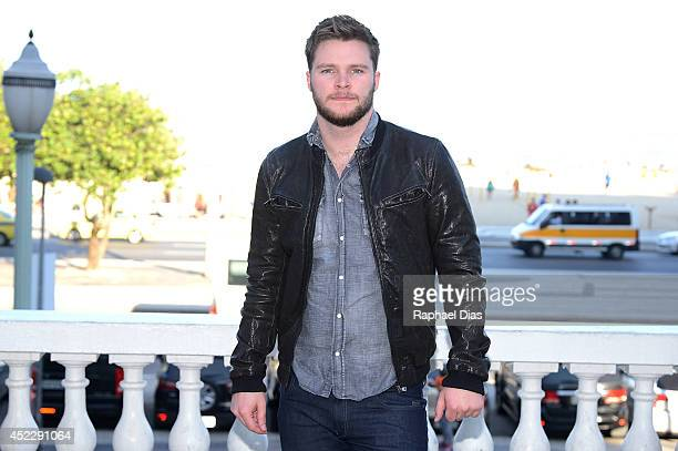 Jack Reynor attends the photocall for Paramount Pictures' 'Transformers Age of Extinction' at Copacabana Palace Hotel on July 17 2014 in Rio de...