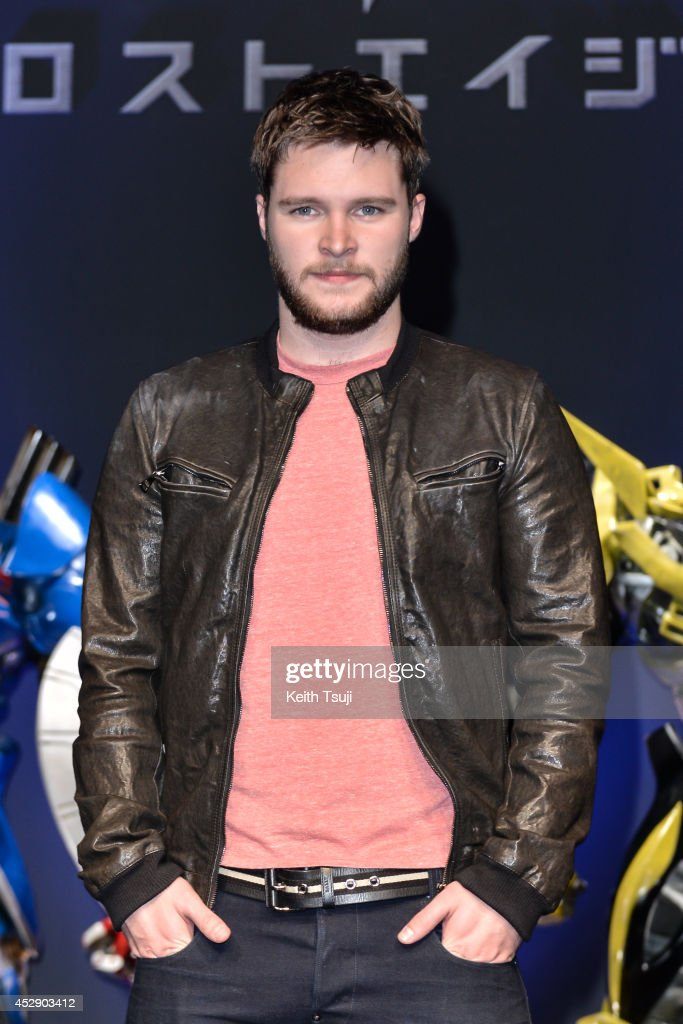 Jack Reynor attends the press conference for Japan premiere of 'Transformers Age Of Extinction' at Tokyo Midtown on July 29 2014 in Tokyo Japan