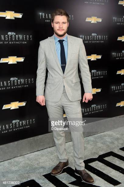 Jack Reynor attends the 'Transformers Age Of Extinction' premiere at Ziegfeld Theater on June 25 2014 in New York City