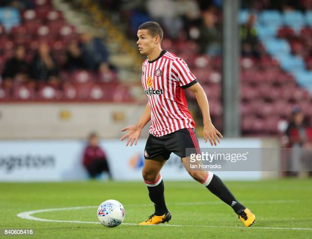 Jack Rodwell of Sunderland during the Checkertrade Trophy group stage match at Glanford Park on August 29 2017 in Scunthorpe England