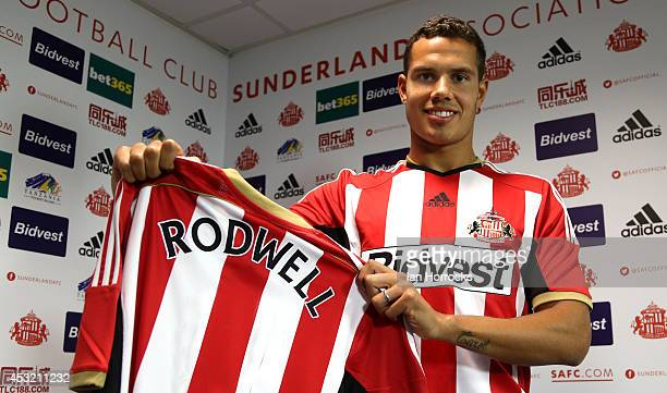 Jack Rodwell pictured at The Academy of Light after signing for Sunderland AFC on August 05 2014 in Sunderland United Kingdom