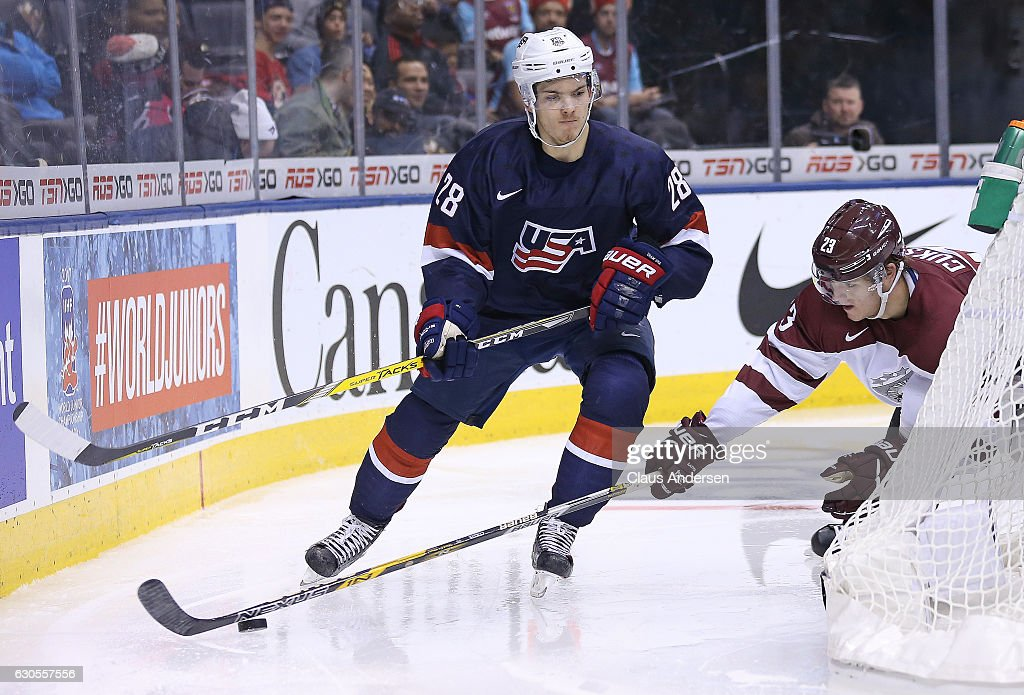 United States v Latvia - 2017 IIHF World Junior Championship