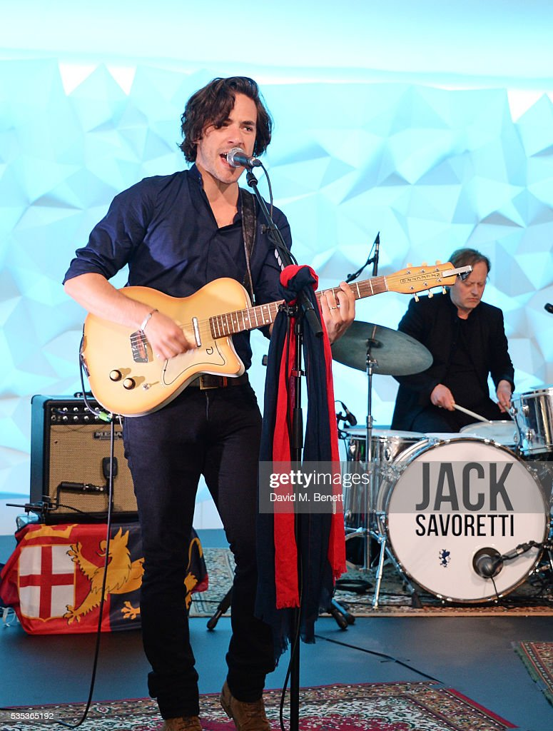 Jack Savoretti performs during day two of the Audi Polo Challenge at Coworth Park on May 29, 2016 in London, England.