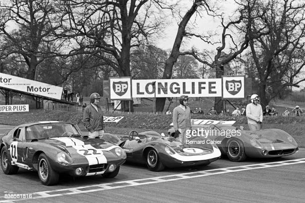Jack Sears Jim Clark John Surtees Shelby Cobra Daytona Coupe LotusFord 30 LolaChevrolet T70 Tourist Trophy Oulton Park 01 May 1965