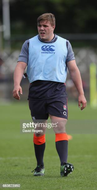 Jack Singleton looks on during the England training session held at Brighton College on May 16 2017 in Brighton England