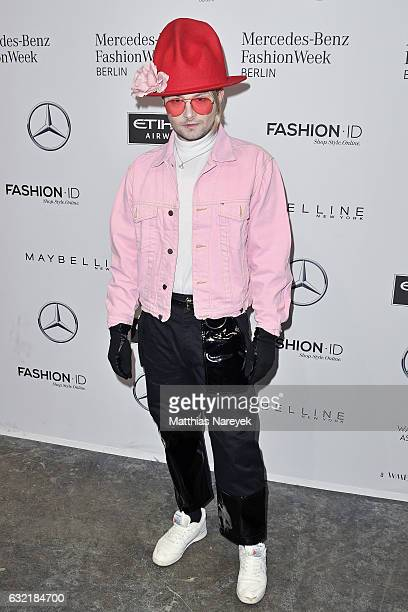 Jack Strify attends the Sadak show during the MercedesBenz Fashion Week Berlin A/W 2017 at Kaufhaus Jandorf on January 20 2017 in Berlin Germany