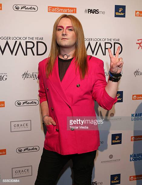 Jack Strify poses during the 2016 Blogger of the Year Award on May 19 2016 in Hamburg Germany