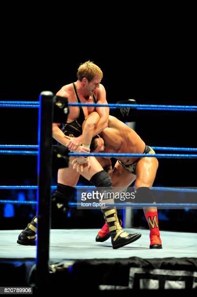 Jack Swagger / Chris MASTERS Wrestlemania Revenge Tour Halle Tony GarnierLyon