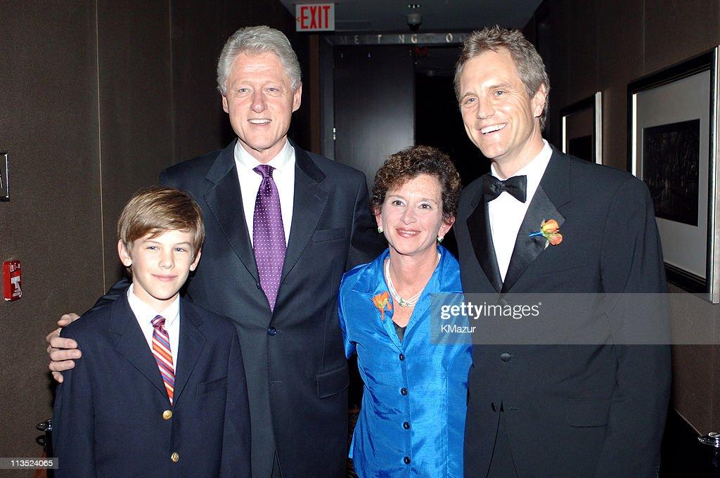 Jack Sykes Jr Bill Clinton Nancy Cantor president/chancellor Syracuse University and John Sykes