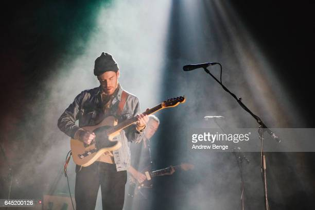Jack Tatum of Wild Nothing performs at the First Direct Arena on February 19 2017 in Leeds United Kingdom