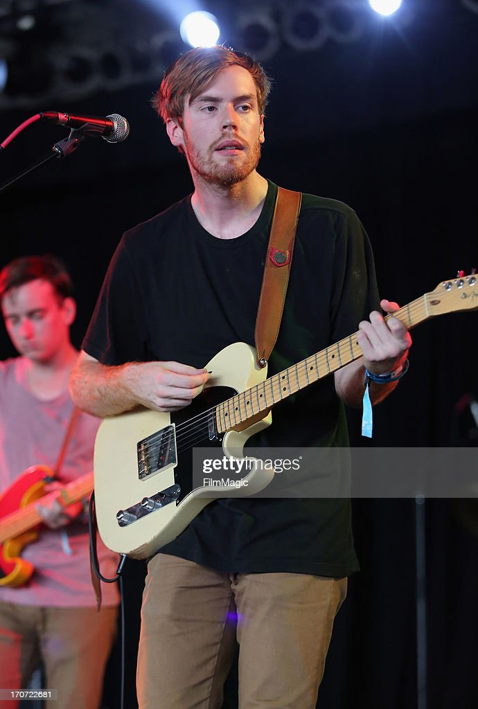 Jack Tatum of Wild Nothing performs onstage at The Other Tent during day 4 of the 2013 Bonnaroo Music & Arts Festival on June 16, 2013 in Manchester, Tennessee.
