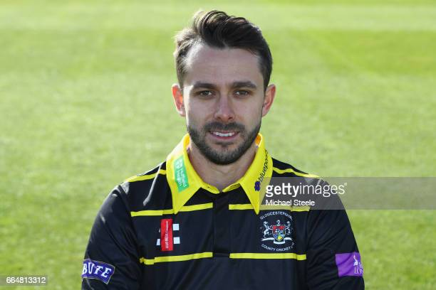 Jack Taylor of Gloucestershire in the Royal London One Day kit during the Gloucestershire County Cricket photocall at The Brightside Ground on April...
