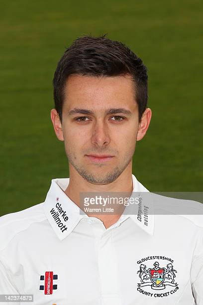 Jack Taylor of Gloucestershire poses for a portrait during the Gloucestershire CCC photocall at the County Ground on April 3 2012 in Bristol England
