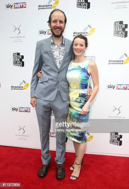 Jack Thorne and Rachel Mason attending The Southbank Sky Arts Awards 2017 at The Savoy Hotel on July 9 2017 in London England