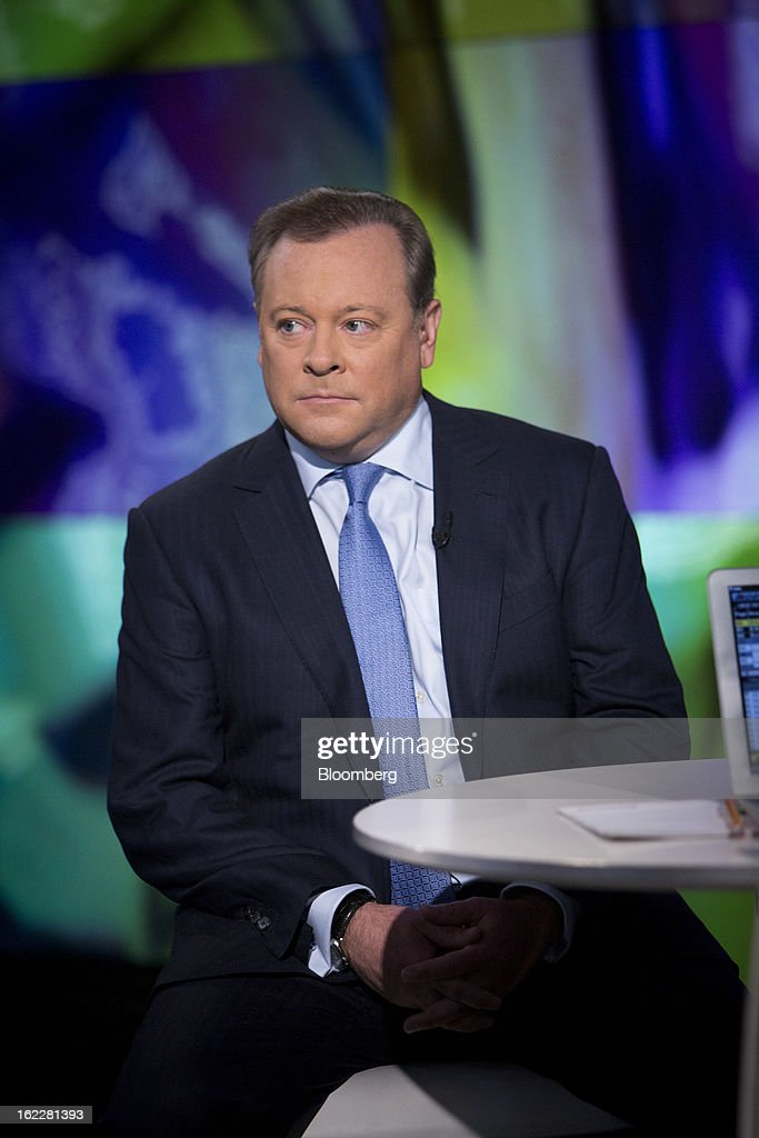Jack Tretton, chief executive officer of Sony Computer Entertainment America Inc., pauses before a Bloomberg Television interview in New York, U.S., on Thursday, Feb. 21, 2013. Sony Corp. unveiled the PlayStation 4, its first video-game console in seven years, introducing new cloud and social-media features. Photographer: Scott Eells/Bloomberg via Getty Images