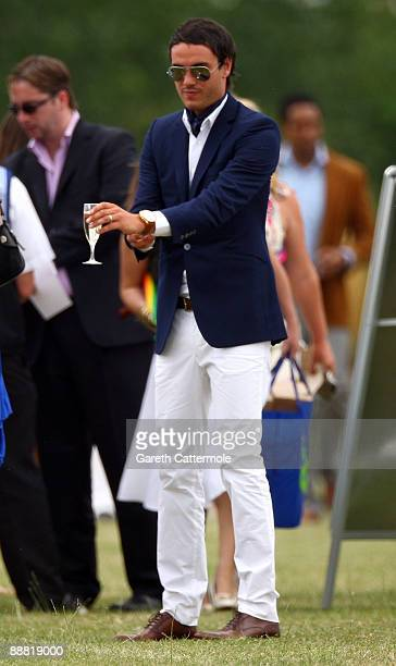 Jack Tweed attends the Duke Of Essex Polo on July 4 2009 in Epping England