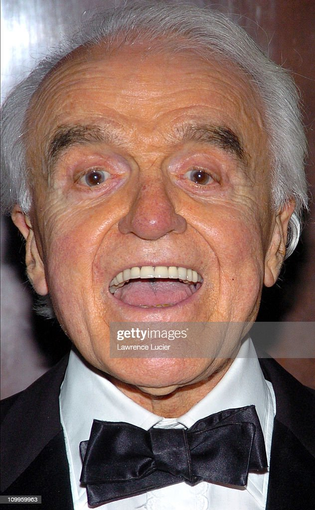 Jack Valenti during The Actors' Fund of America That's Entertainment 2004 Annual Gala at The Waldorf Astoria Hotel in New York, New York, United States.