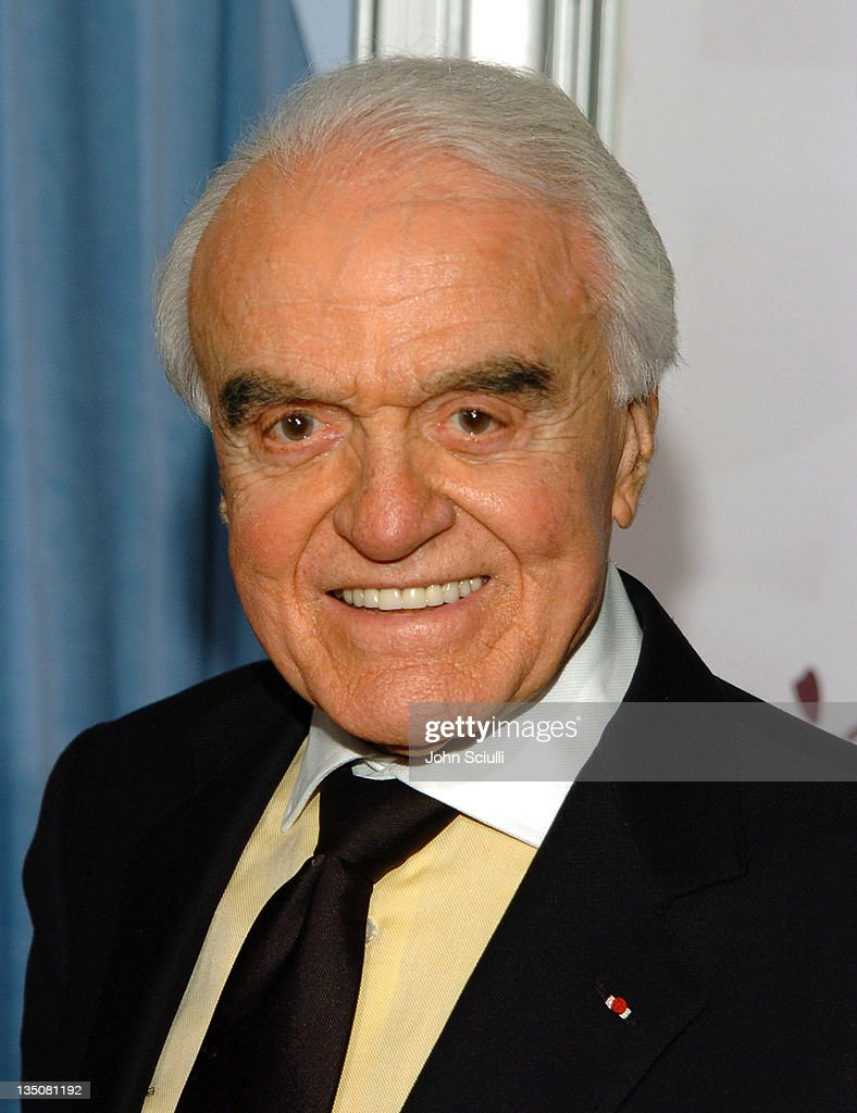 Jack Valenti during The Heart Foundation Gala Honoring Anne Douglas and Kirk Douglas at Beverly Hilton Hotel in Beverly Hills, California, United States.