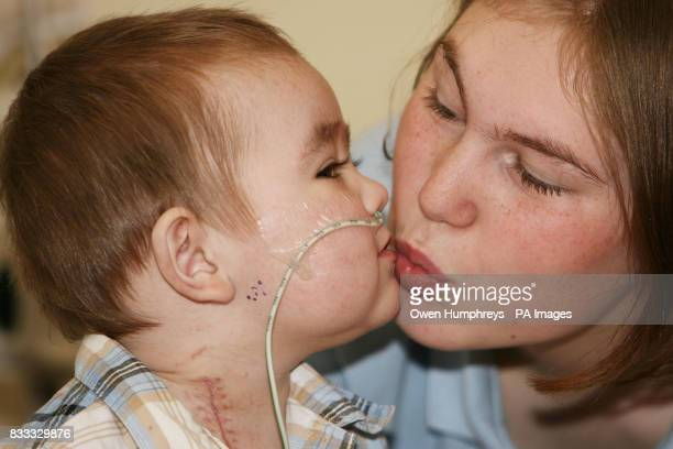 Jack Vellam 13 months with his mum Danielle Hastings Jack has become the worlds first baby to survive for 120 days on an external artificial heart