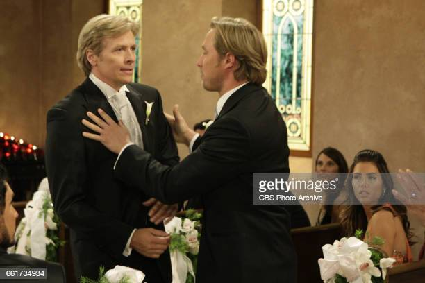 BEAUTIFUL Jack Wagner as Dominick Marone and Kyle Lowder as Rick Forrester of CBSs THE BOLD AND THE BEAUTIFUL Weekdays on the CBS Television Network