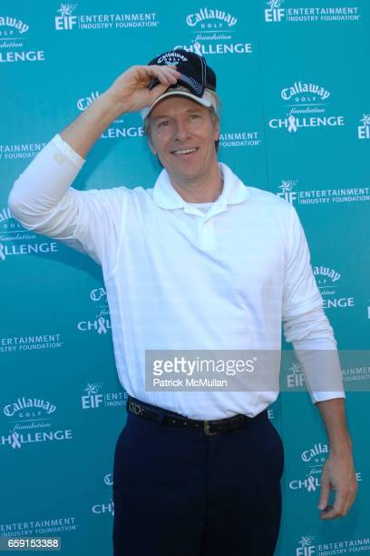 Jack Wagner attends Callaway Golf Foundation Challenge Benefitting Entertainment Industry Foundation Cancer Research Programs at Riviera Country Club...