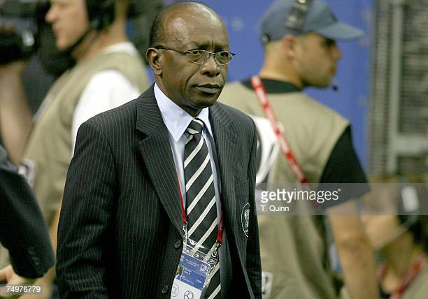 Jack Warner head of CXONCACAF at the start of the FIFA U20 match June 30 2007 in Montreal Quebec Canada Poland won 10