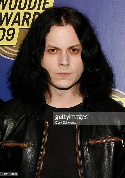 Jack White attends the 2009 mtvU Woodie Awards at the Roseland Ballroom on November 18 2009 in New York City