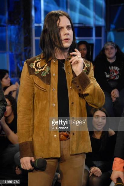 Jack White of The Raconteurs appears on Fuse April 4th 2006