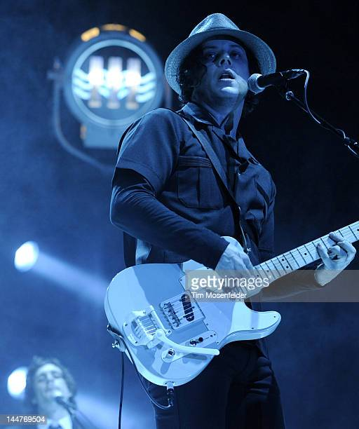 Jack White performs as part of Day 1 of the 2012 Hangout Music Festival on May 18 2012 in Gulf Shores Alabama