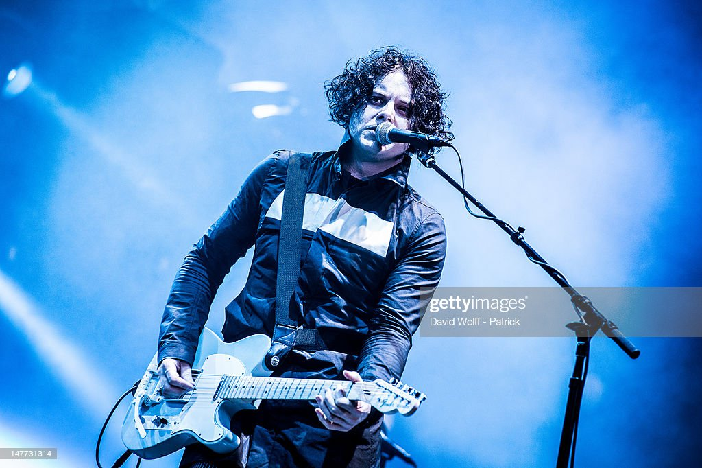 Jack White performs at Eurockeennes Music Festival on July 1, 2012 in Belfort, France.